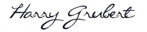 Bauanleitung Vogelhaus Harry Grubert Unterschrift