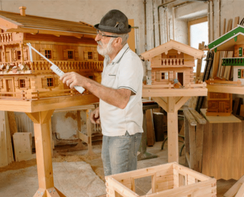 Vogelhäuschen Schreiner Hermann Grubert