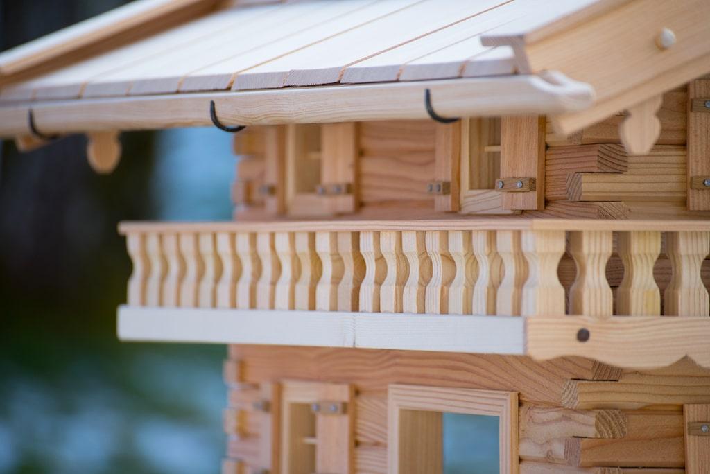 vogelhaus landhausvilla original grubert vogelhaus. Black Bedroom Furniture Sets. Home Design Ideas