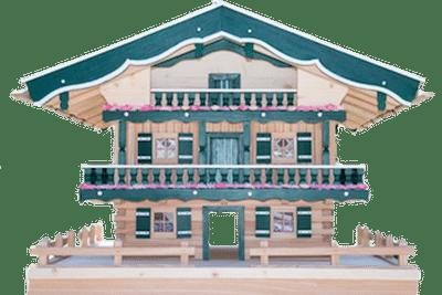 Vogelhaus Luxusvilla Foto 1