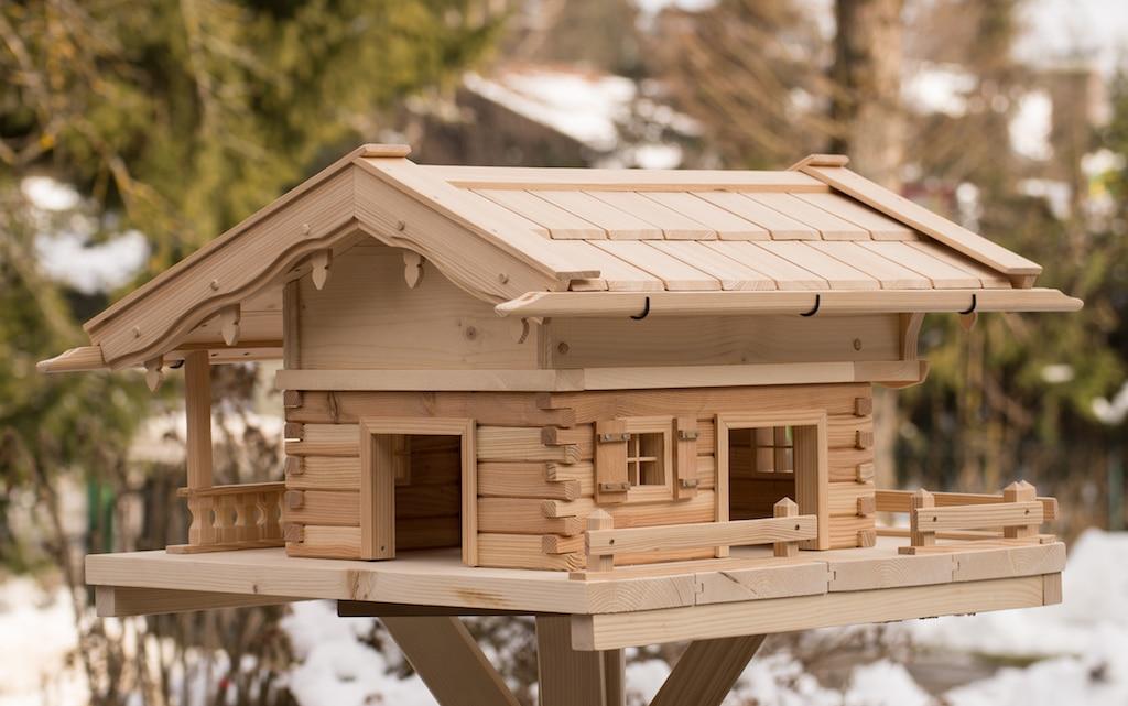Vogelhaus typ linden gro original grubert vogelhaus for Sachen selber bauen