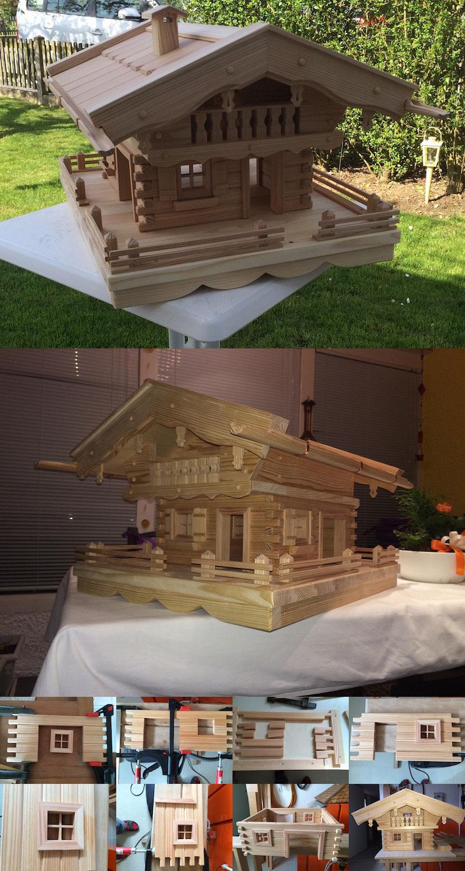 vogelhaus bauen - original grubert vogelhäuser selber machen!